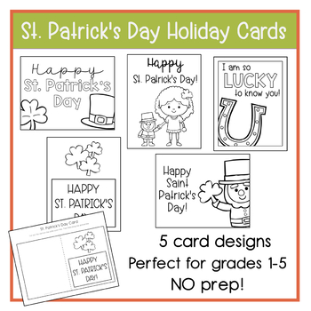 St. Patrick's Day Holiday Cards