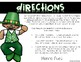 St. Patrick's Day Holiday Hunt ~ Listening and Following D