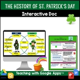 St. Patrick's Day Holiday Interactive Doc: Google Classroom Compatible