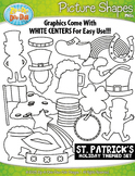 St. Patrick's Day Picture Shapes Clipart {Zip-A-Dee-Doo-Dah Designs}