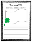 St. Patrick's Day Writing - How to Catch a Leprechaun