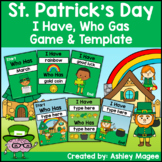 St. Patrick's Day I Have, Who Has Ready-to-Print Game and