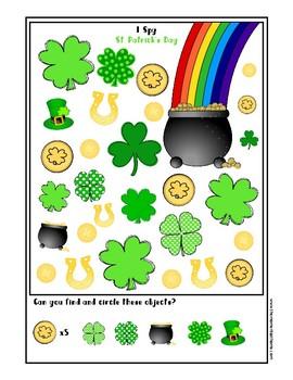 St. Patrick's Day I Spy