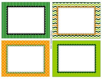 St. Patrick's Day II Blank Task Cards