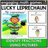 Saint Patrick's Day Identifying Fraction Pictures Game