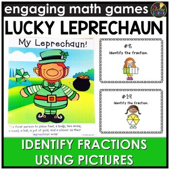 Identifying Fractions (Pictures Version) Game