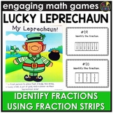 Identifying Fractions Using Fraction Strips Game