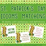 St. Patrick's Day Idiom Matching Freebie