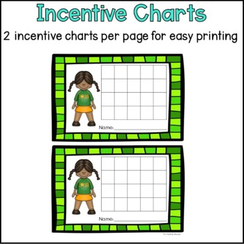 St. Patrick's Day Incentive Charts