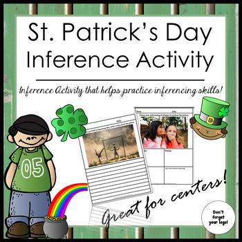 St. Patrick's Day Inference Activity