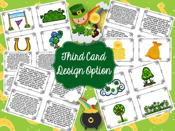 St. Patrick's Day Inference Card Game-Find the Leprechaun's Gold