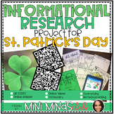 St. Patrick's Day Informational Research Based Project