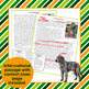 St. Patrick's Day Informational Text Comprehension Activities Irish Wolfhound