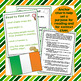 St. Patrick's Day Informational Text with Comprehension Activities Potato Famine