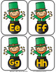 St. Patrick's Day Initial Sound and Number Match-Up Bundle