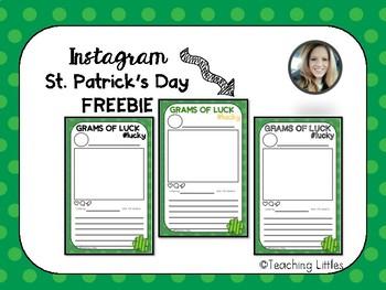 St. Patrick's Day Instagram Printable
