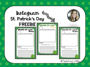 St. Patrick's Day Instagram Printable