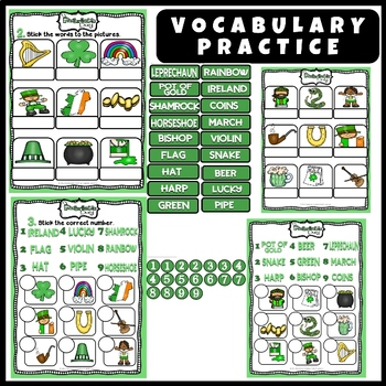 St. Patrick's Day - Interactive Book