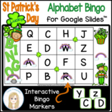 St Patrick's Day Interactive Digital Letter Bingo Game for