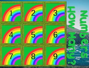 St. Patrick's Day Interactive Math Game PowerPoint SMARTboard Sneaky Leprechaun