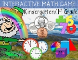 St. Patrick's Day Interactive Math Game PowerPoint SMARTbo