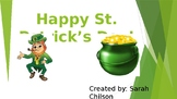St. Patrick's Day- Interactive Powerpoint