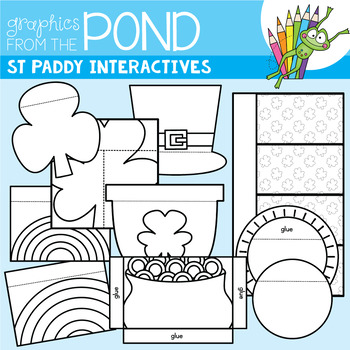 St Patrick's Day Interactives {Clipart Set}