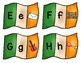 St. Patrick's Day Irish Flag Alphabet Match
