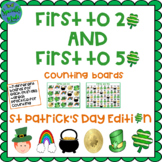 St. Patrick's Day Irish Number Cards Counting  1-20 1-50 F
