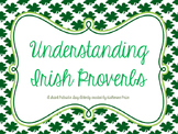 St. Patrick's Day - Irish Proverbs Activity