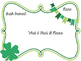 St. Patrick's Day - Irish Proverbs Activity