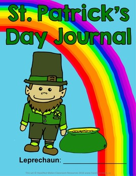 St. Patrick's Day Journal