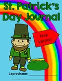 St. Patrick's Day Journal - Free Version