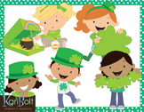 St Patrick's Day Kids Clip Art