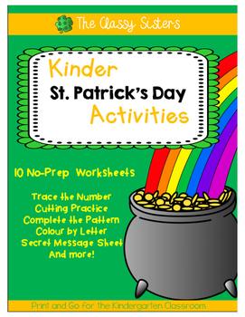 St. Patrick's Day (Kindergarten)