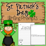 St. Patrick's Day Kindergarten-2nd grade Writing Prompts