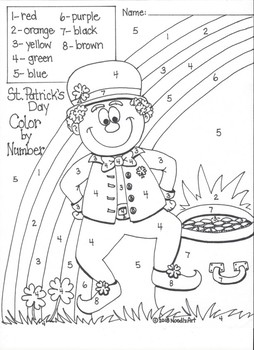 St. Patrick's Day Kindergarten Math Fun
