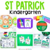 St Patrick's Day Kindergarten Morning Work | March Activities & Worksheets