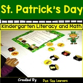 St. Patrick's Day Kindergarten Math and Literacy Center Activities
