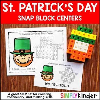 St. Patrick's Day Kindergarten - Snap Block Center