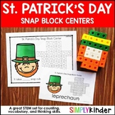 St. Patrick's Day Kindergarten - Snap Block Center
