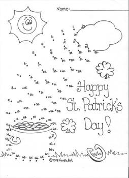St. Patrick's Day Kindergarten Subtraction Fun