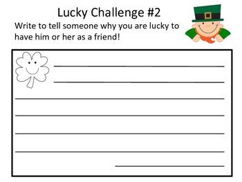 St. Patrick's Day Kindness Challenge