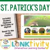 St. Patrick's Day LINKtivity® | Digital Guide & Flipbook | Distance Learning