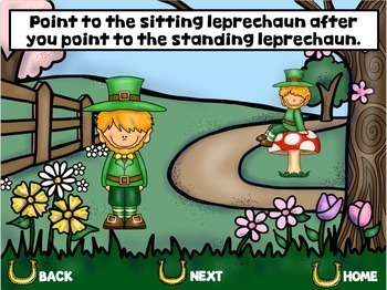 No Print St. Patrick's Day Language & Articulation Games