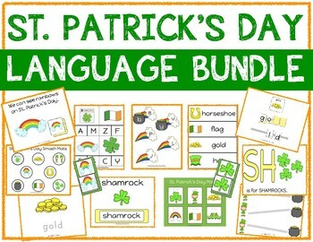 St. Patrick's Day Language Bundle with Adapted Books