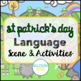 St Patrick's Day Language Scene Speech Therapy