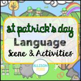 St Patrick's Day Speech Therapy Language Scene