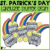 St. Patrick's Day Language Stuffer Craft