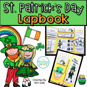 St. Patrick's Day Lapbook Activity